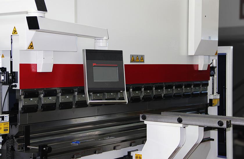 Baykal APHS 31300 Compact – CNC Press Brake – Istanbul Teknik Marine